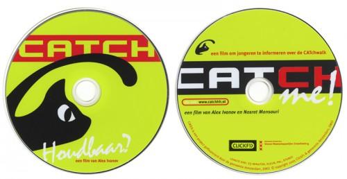 ontwerp opdruk enkele dvds