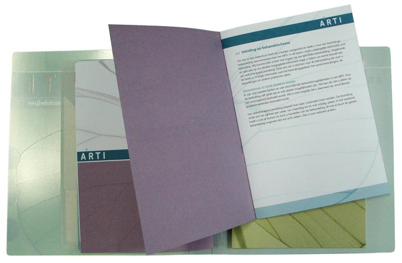 ontwerp brochures in verzamelband