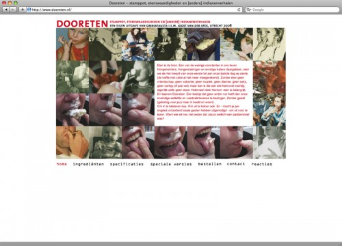 website eigen project dooreten