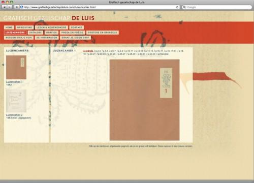 website ontwerp de Luis