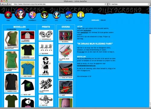 website winkel