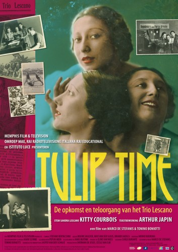 grafisch ontwerp affiche voor documentaire Tulip Time