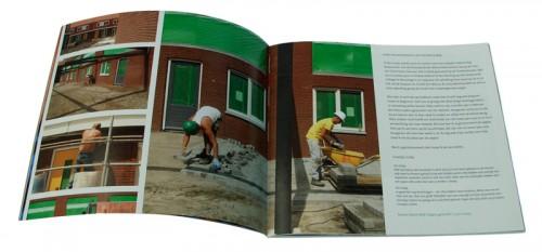 ontwerp huisje boompje buurt een fotoboek over een wijk in Utrecht