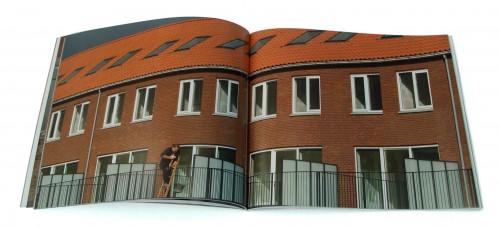 spread fotoboek huisje boompje buurtje
