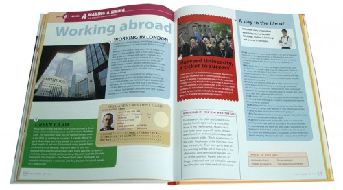 layout schoolboeken Engels Allright van uitgeverij Malmberg