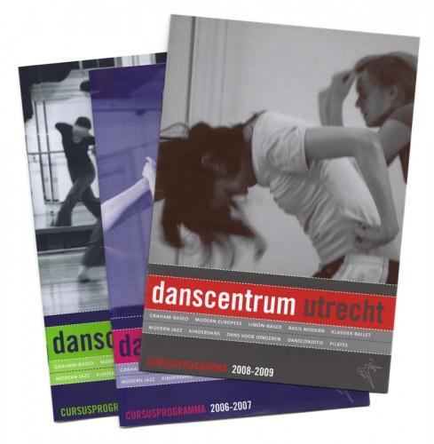 brochures voor Danscentrum Utrecht