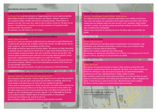 programmaoverzicht festival Houten