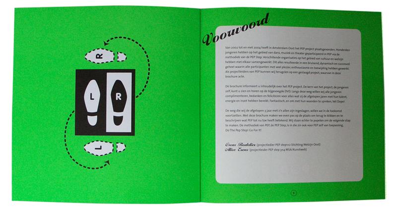 ontwerp boekje Doe de PEP-step