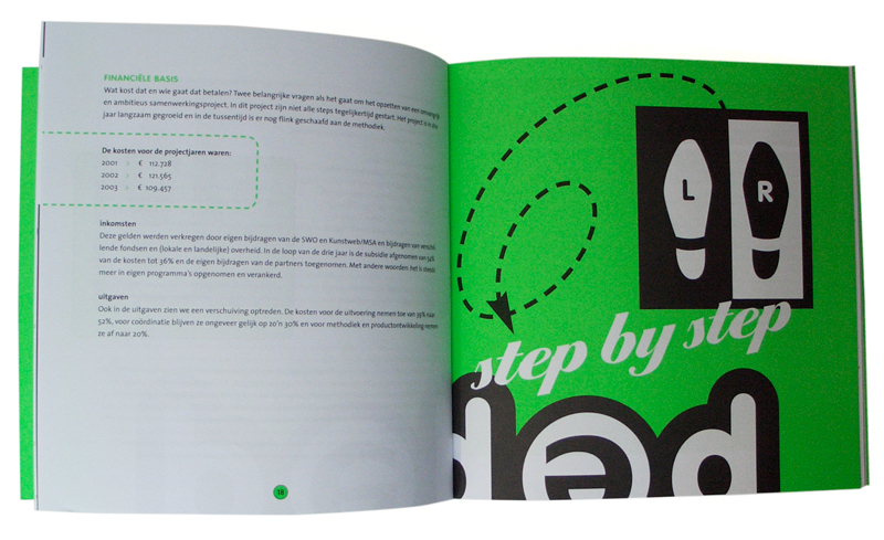 grafisch ontwerp brochure PEP-Step