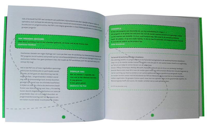 layout boekje Pep-Step