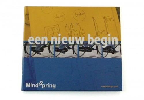 grafisch ontwerp dvd-hoesje Mindspring - een nieuw begin