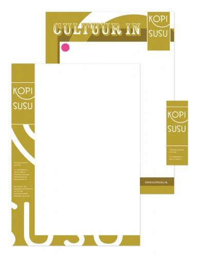 vormgeving / ontwerp huisstijl Kopi Susu