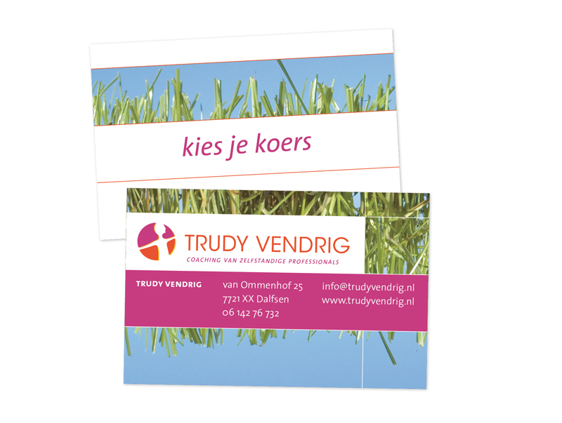 visitekaartje Trudy Vendrig