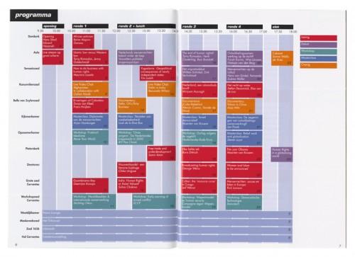 ontwerp programmaboekje a struggle for peace
