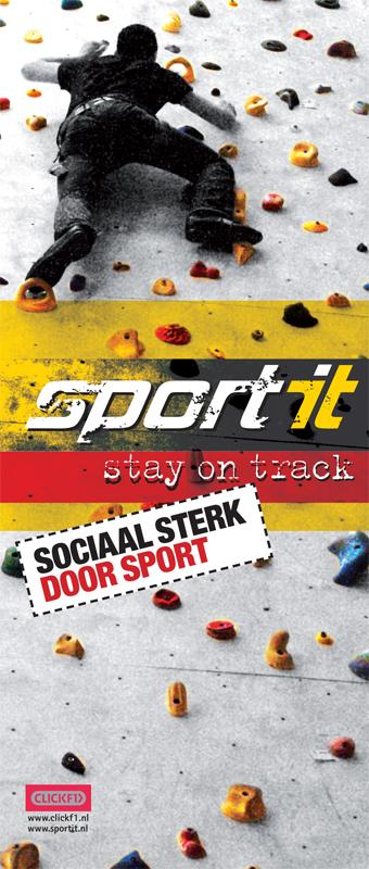 grafisch ontwerp banner Sport-it