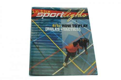 grafisch ontwerp magazine voor sport-it