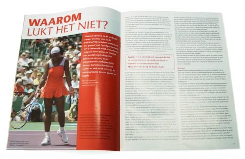 T en C magazine ontwerp