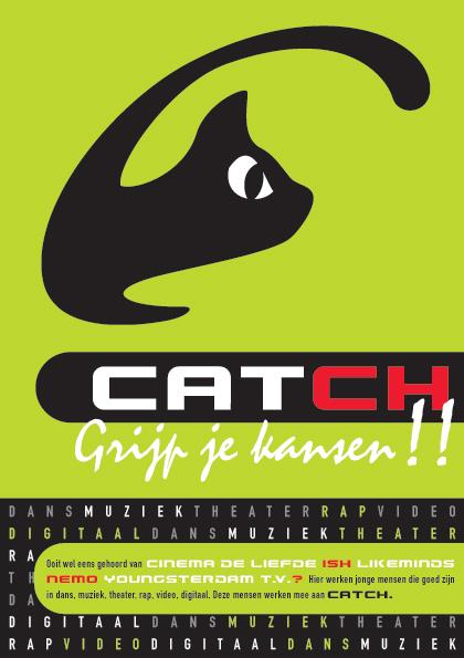 grafisch ontwerp flyer Catch