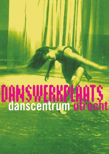 grafisch ontwerp flyer voor danswerkplaats bij Danscentrum Utrecht