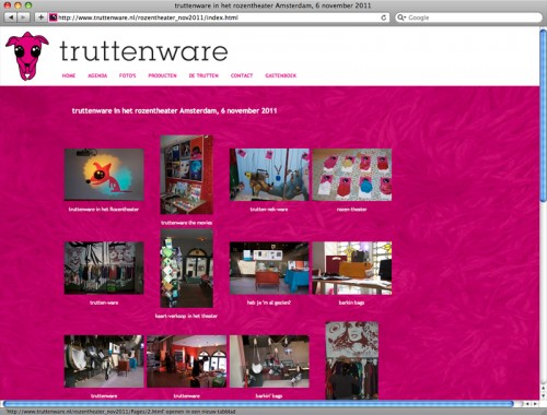 gallery op website voor Truttenware