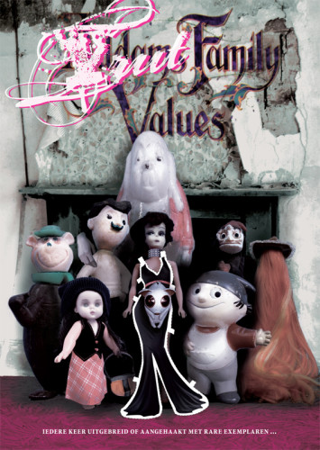grafisch ontwerp truttenware-parodie filmposter Addams Family Values