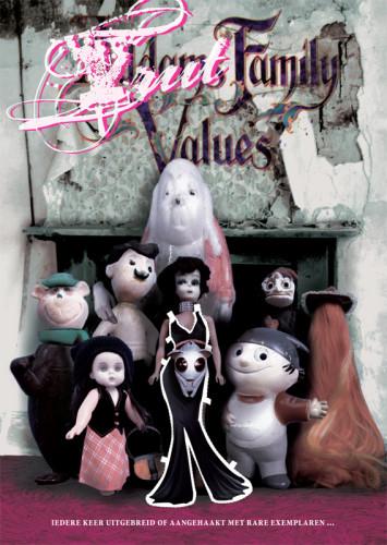 grafisch ontwerp truttenware-parodie filmposter Addams Family Values