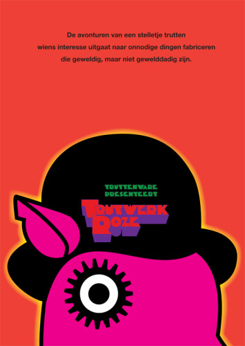 grafisch ontwerp truttenware-parodie filmposter Clockwork Orange