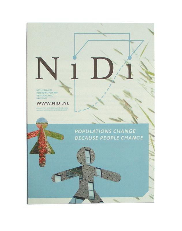 grafisch ontwerp folder NiDi