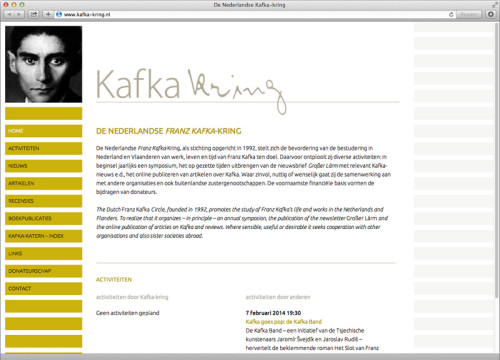 webdesign website kafka-kring