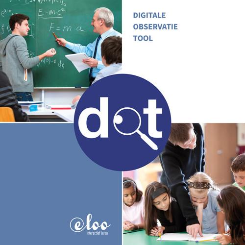 grafisch ontwerp brochure voor e-Loo interactief leren