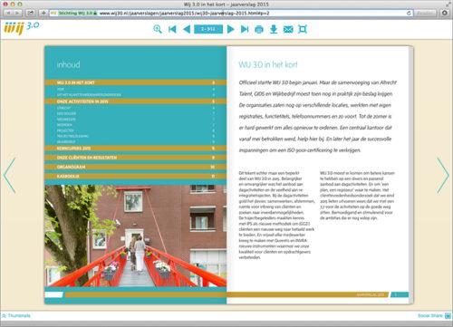 digitale bladerversie van jaarverslag