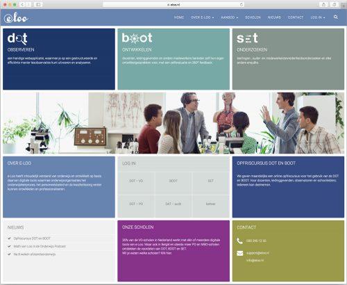 website design en realisatie - voor eloo