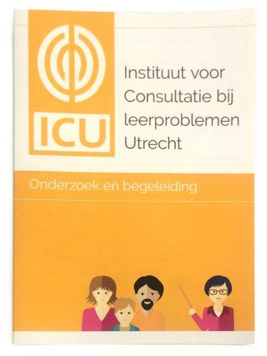 algemene folder voor ICU, Instituut voor Consultatie bij leerproblemen Utrecht