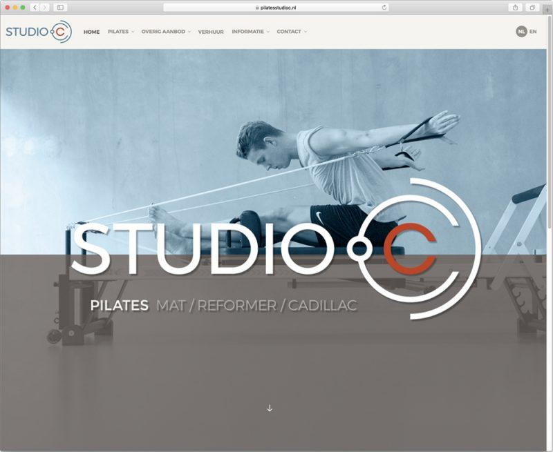 website ontwerp en realisatie voor Studio C