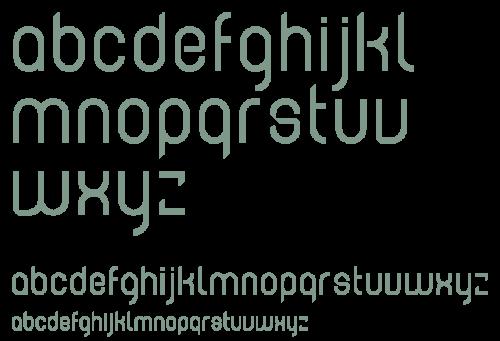 ontwerp alfabet tobe, custom ontwerp voor because:design